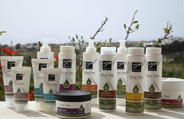 Olive Tree Cosmetics skincare products line